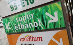 pompe essence bioethanol